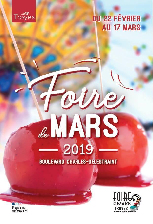 Foire Mars Troyes 2019